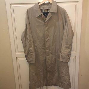 Burberry nova check trench coat